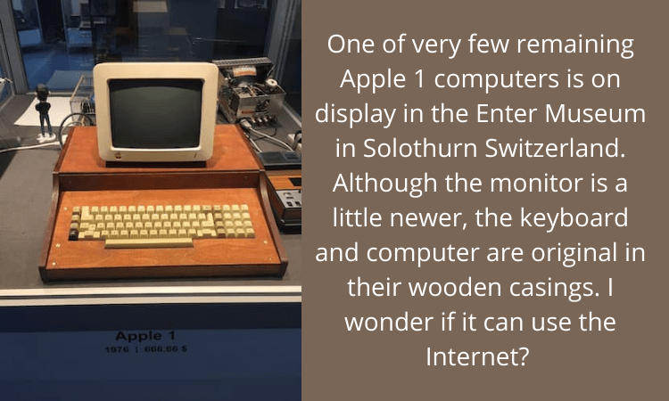 Original 1976 Apple 1 Computer