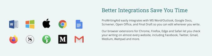 PWA Integrations for book editing