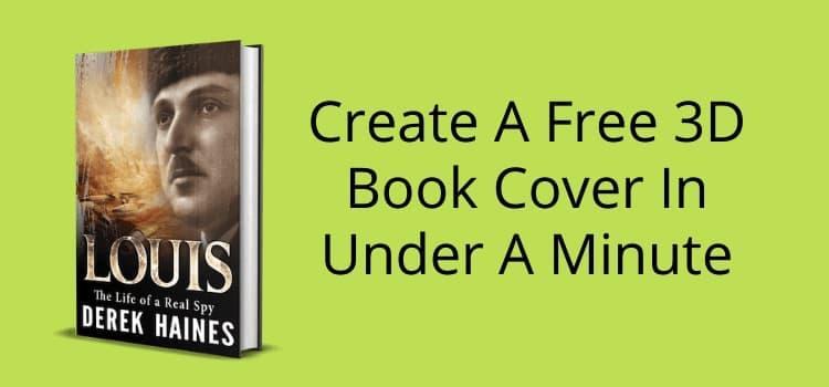 Create A Free 3D Book Cover