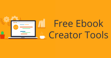 Free Ebook Creator Tools