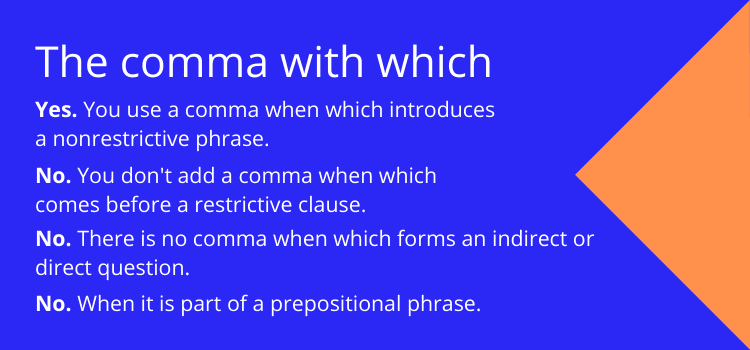 which comma rules