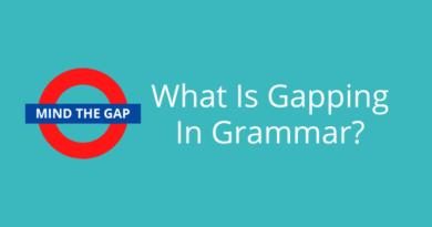 gapping in grammar