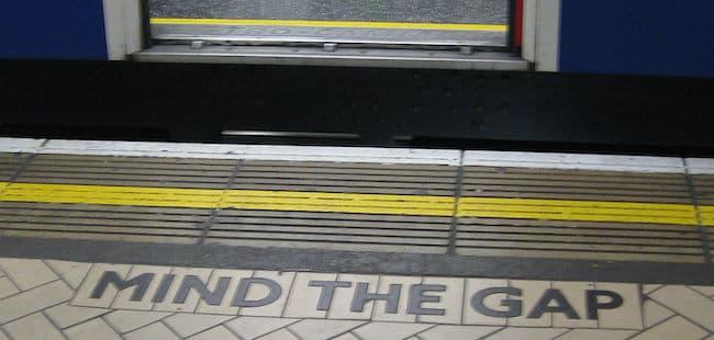 Mind The Gap Victoria Station