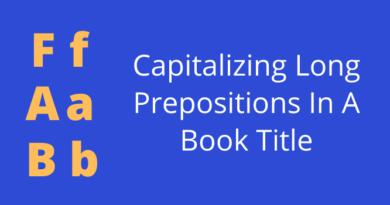 Capitalize Long Prepositions